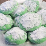 Easy grinch cookies